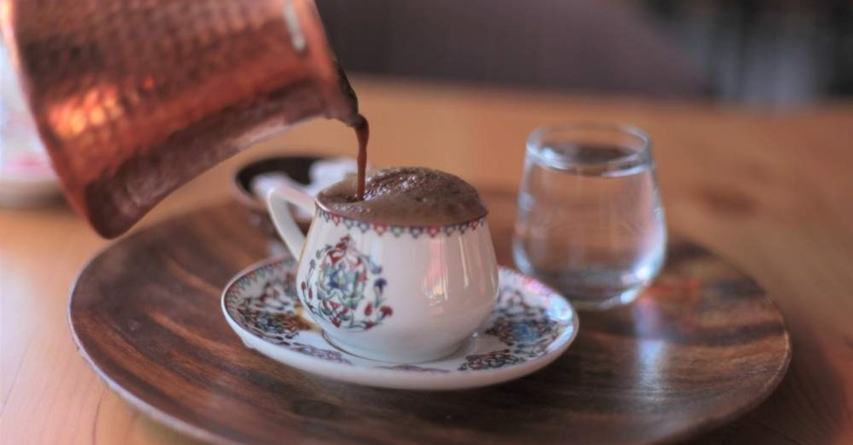 Turkish coffee is cooked in a special coffeepot and best served in a small porcelain cup. (File Photo)