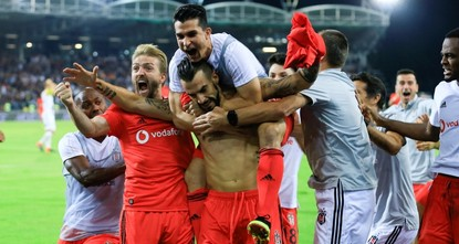 Beşiktaş advances to Europa League group stage playoffs
