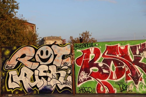 Graffiti in Karaköy.