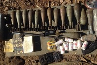 YPG identity cards found in PKK weapons caches inside Turkey