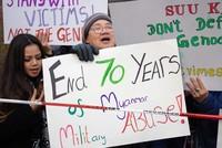 Rohingya Muslims reject Suu Kyi's genocide denial