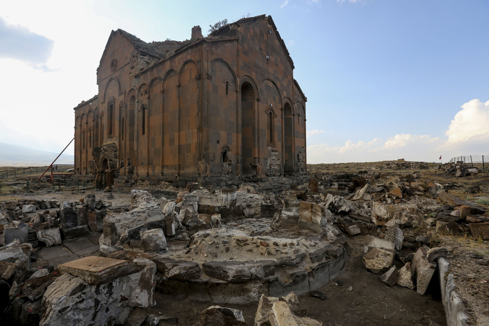 Ani has been home to some 23 civilizations since its establishment and it is also considered to be the first entrance gate to Anatolia from the Caucasus.