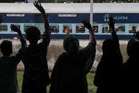 Armed robbers loot passengers in Indian train
