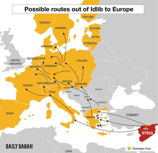 idlib offensive means a nightmare for humanity a new refugee crisis for europe