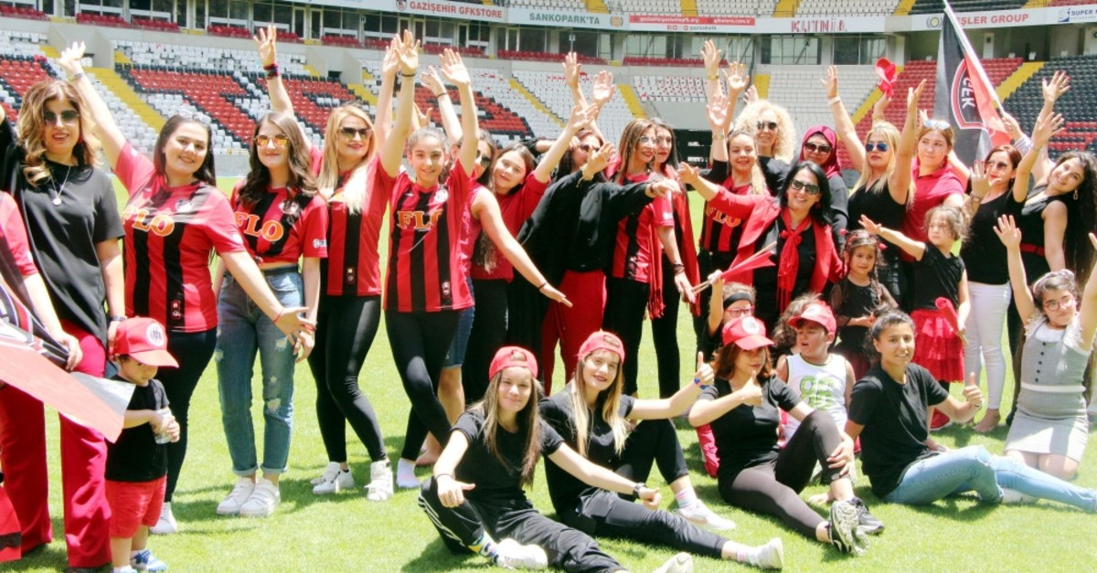 Established last year to end male domination in stadiums, the Gaziu015fehir Women Fans' Association has mobilized supporters to have more of a say in matches.