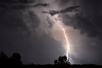 Indian state weathers 36,749 lightning strikes in 13 hours