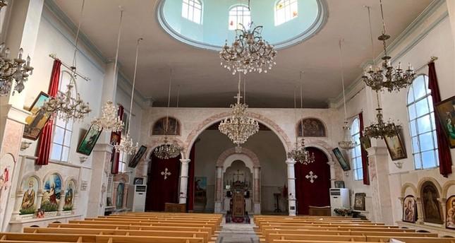 كنيسة تل أبيض بعد عملية نبع السلام