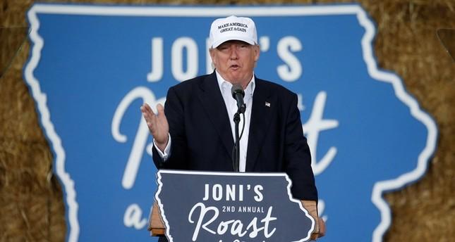 Republican nominee Donald Trump speaks at Joni's Roast and Ride in Des Moines, Iowa, U.S., August 27, 2016.emREUTERS Photo/em