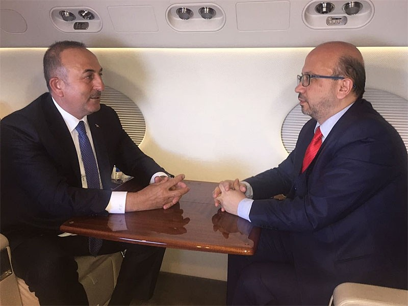 u00c7avuu015fou011flu (L) told Sabah dailyu2019s Ankara representative Okan Mu00fcderrisou011flu, u201cU.S. officials told us that they also have plans to retreat and eliminate the PKK from everywhere, including Sinjar.u201d