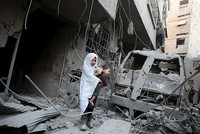 Syrian opposition urges EU sanctions on Russian companies