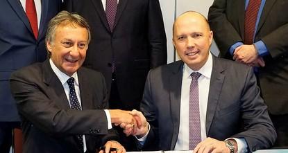 pAnlässlich zum 50. Jahrestag der diplomatischen Beziehungen zwischen Australien und der Türkei ergriff der australische Migrationsminister Peter Dutton am vergangenen Dienstag die Gelegenheit, um...