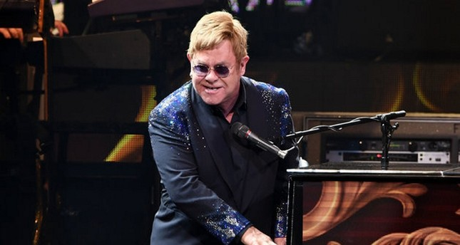 Elton John performs The Million Dollar Piano at The Colosseum at Caesars Palace in Las Vegas on New Year's Eve December 31, 2016 in Las Vegas, Nevada. (SABAH FILE Photo/WireImage)