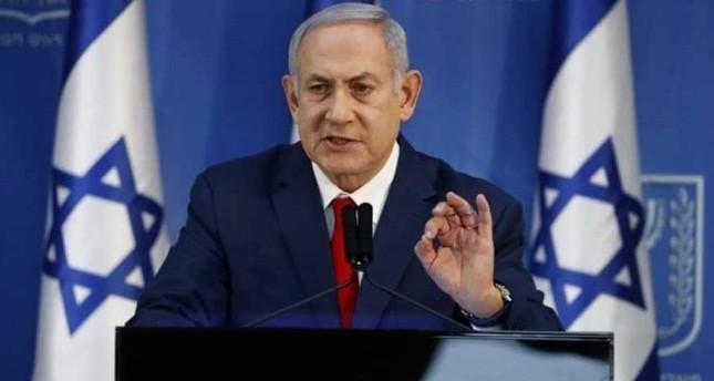 إطلاق صواريخ من قطاع غزة يجبر نتنياهو على قطع فعالية انتخابية