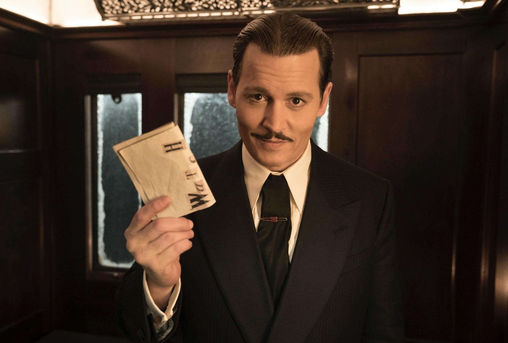 Johhny Depp stars as Mr. Ratchet, the murder victim in the story.