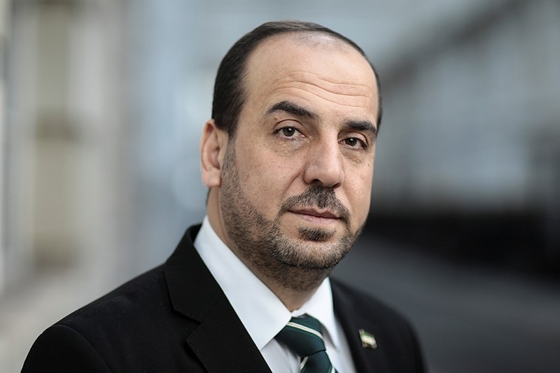 Nasr Hariri, chief negotiator for Syria's main opposition, poses for a photograph in London, U.K., Jan. 16, 2018. (Reuters Photo)