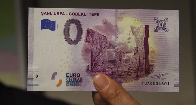 New euro banknote features Göbeklitepe