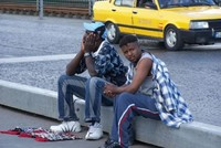 Senegalese Yusuf Thiam, 50, who worked in Italy for a while and came to Turkey for work years ago, sends all the money he earns by selling watches on the streets to his family.  Yusuf Thiam, who...
