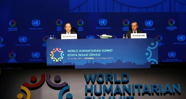 Erdoğan: Nur bestimmte Länder teilen die Last der humanitären Krisen