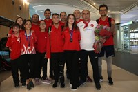 Turkish paralympic swimmers' success brings pride, inspiration