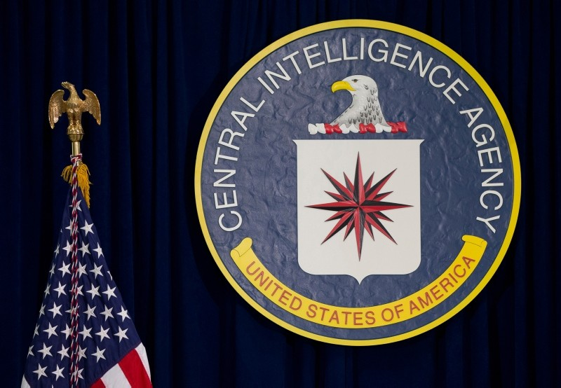 file photo shows the seal of the Central Intelligence Agency at CIA headquarters in Langley, Va.  (AP File Photo)
