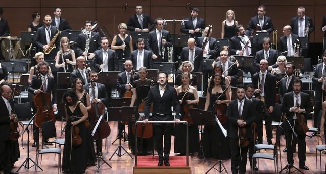 Borusan Philharmonic on Europe tour