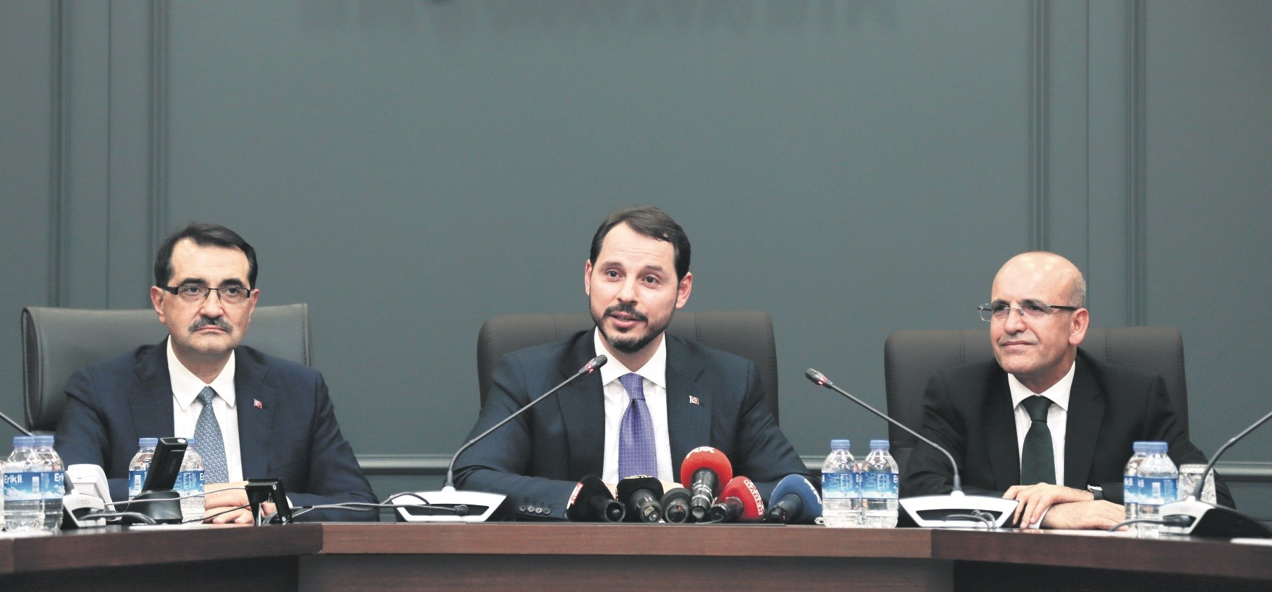 Treasury and Finance Minister Berat Albayrak (C) pledged yesterday that the operational capacities of the central bank will be widened to ensure price stability and that the bank will be more active than ever in the upcoming period.