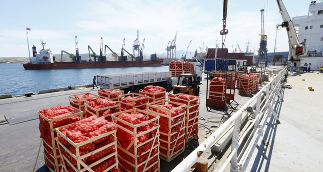 Ships have carried food supplies to Qatar from Aliağa port of İzmir twice since June.