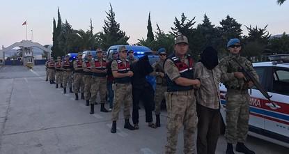 Turkish intelligence brings 9 YPG terrorists to Hatay