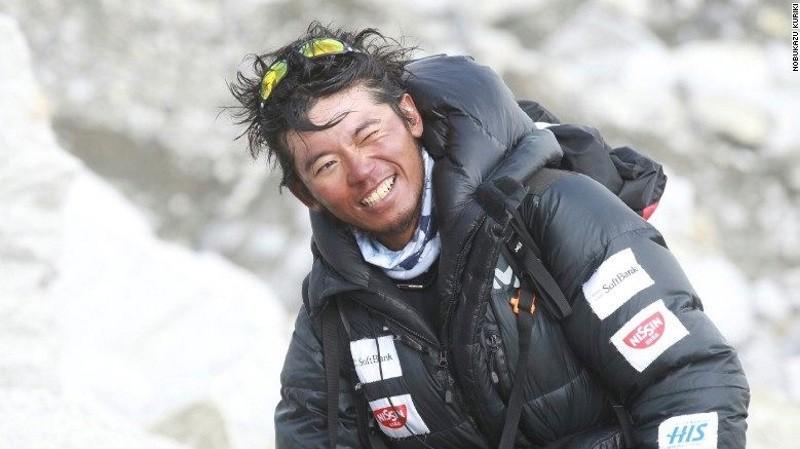 File photo of Japanese climber Nobukazu Kuriki