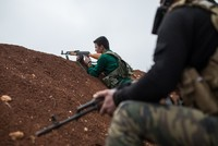 Turkey-backed FSA fighters deployed to Syria's Azaz amid Afrin tensions
