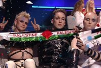 Iceland at Eurovision protests occupation of Palestine