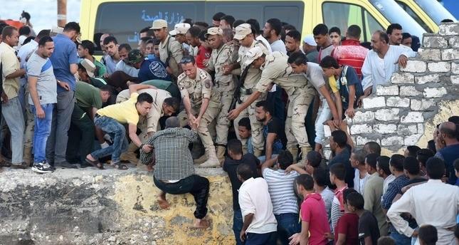ارتفاع ضحايا مركب الهجرة غير الشرعية شمالي مصر إلى 115
