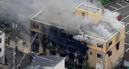 В Японии при пожаре на аниме-студии погибли 33 человека