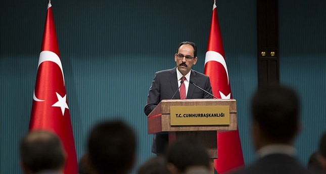 Presidential Spokesman İbrahim Kalın (AA file photo)
