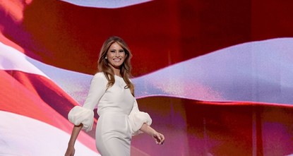 pShe may be tall, slim and a former model, but incoming first lady Melania Trump faces a new kind of fashion police -- designers refusing to dress her because of her husband's politics./p