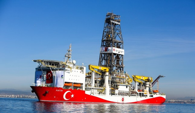 Turkey's first drillship Fatih started operations with deep-sea well drilling in October 2018 off Alanya, a district in the Mediterranean province of Antalya.