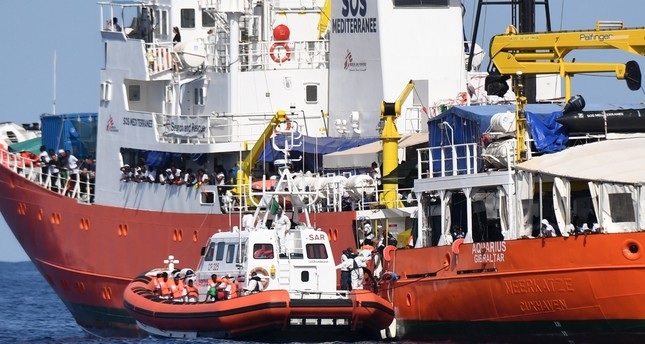 Rome turns away NGO ship with nearly 700 immigrants to Spain