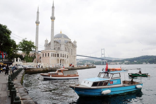 The restored Ortaköy Mosque reopens