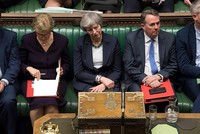 UK parliament rejects 'no-deal' Brexit