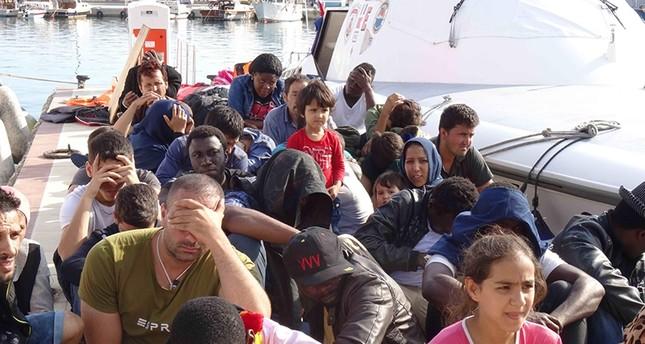 تركيا.. توقيف 47 مهاجراً أجنبياً أثناء محاولتهم الوصول إلى جزيرة يونانية