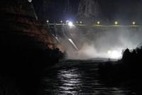 Heavy rainfall bursts dam floodgate in Turkey's southeastern Diyarbakır