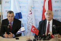 Turkish minister calls for end to Israel-Palestine conflict in first Israel visit since 2010