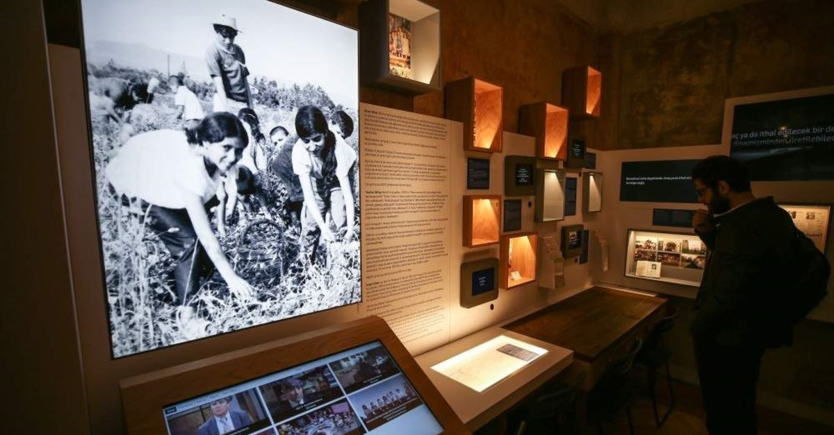 The memorial site offers visitors an interactive guide to Dink's life and work. (AA Photo)