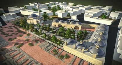 pEin fünf Jahrhunderte alter islamischer Sozialkomplex (Kulliyah) im Bezirk Yenişehir in Bursa, der auf Antrag des Großwesirs Sinan Pascha, des Eroberers des Jemen, gebaut wurde, wird für eine...