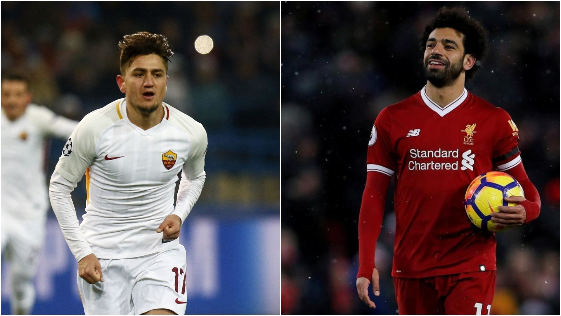 (L) u00dcnder and Salah are seen as two of the favorites of this year's championship. (FILE/REUTERS Photo)