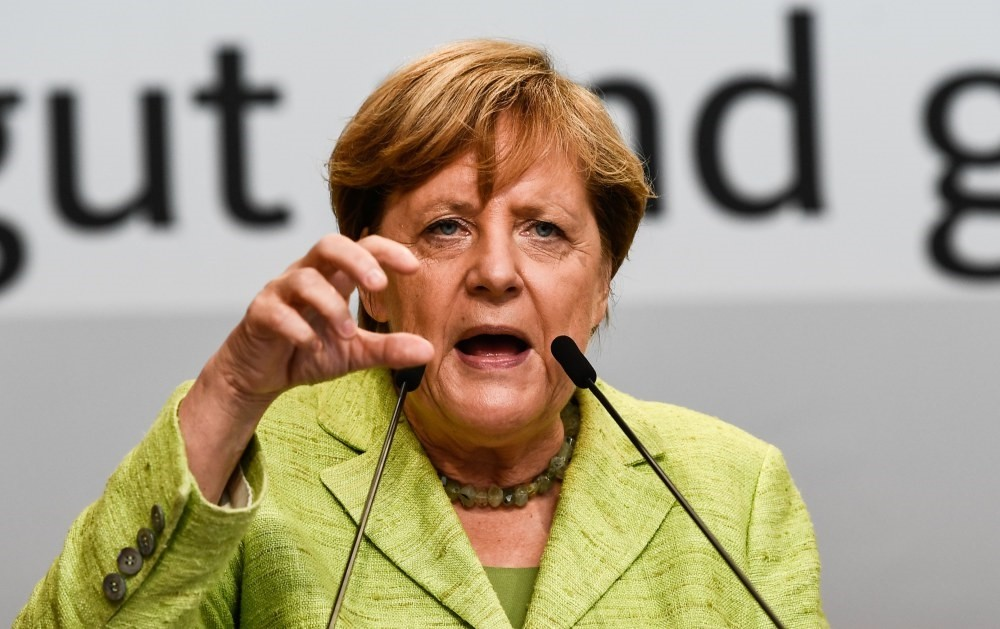 Commenting on Turkey's accession to EU, ,I don't see them ever joining and I had never believed that it would happen,, Merkel said on Sunday.