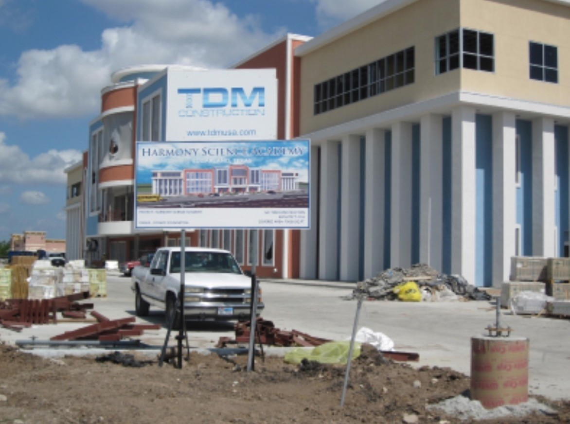 Texas-based TDM Construction, which is affiliated to Gu00fclenists, was reported to have earned over $55 million in contracts from the chain of Harmony charter schools.