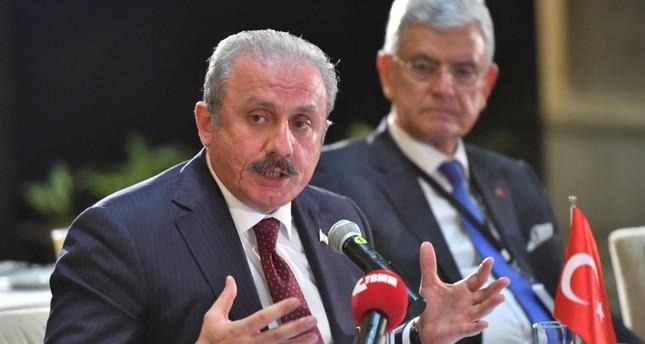 شنطوب يدعو نظراءه في ميكتا للمشاركة بمئوية تأسيس البرلمان التركي