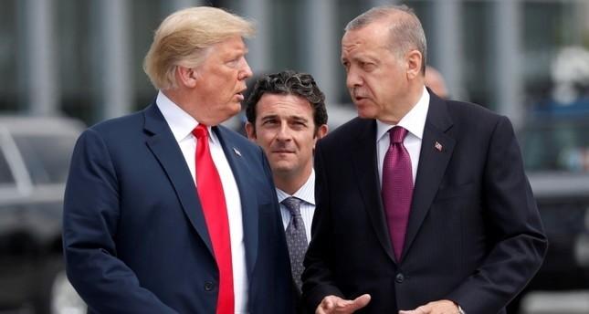 Erdoğan & Trump besprechen Syrien und Manbidsch