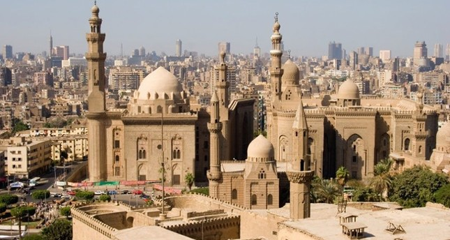 Al-Rifai & Sultan Hassan Mosques in Cairo, Egypt (Sabah File Photo)